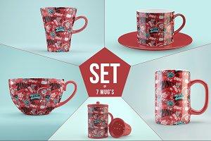 [-50%] Mug Mock-Ups Set
