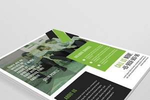 Business Flyer template - V26