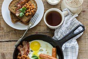 Food photo breakfast