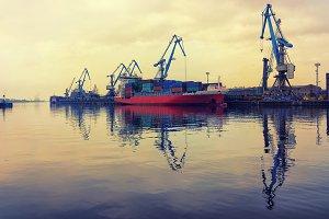 Port. Baltic