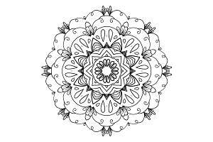 Mandala in vector