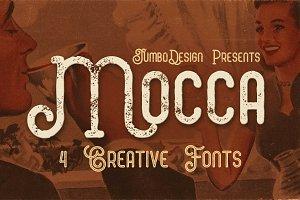 Mocca - Vintage Style Font