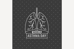 World Asthma Day Icon