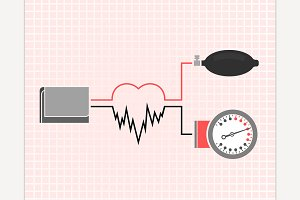Blood Pressure Measuring Image
