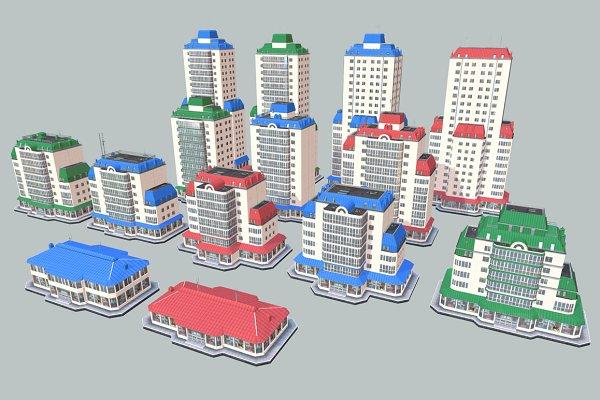 3D Architecture: Beatheart Creative Studio - City Buildings