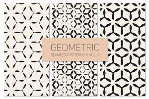Geometric Seamless Patterns Set 12