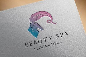 Beauty Spa Salon Logo