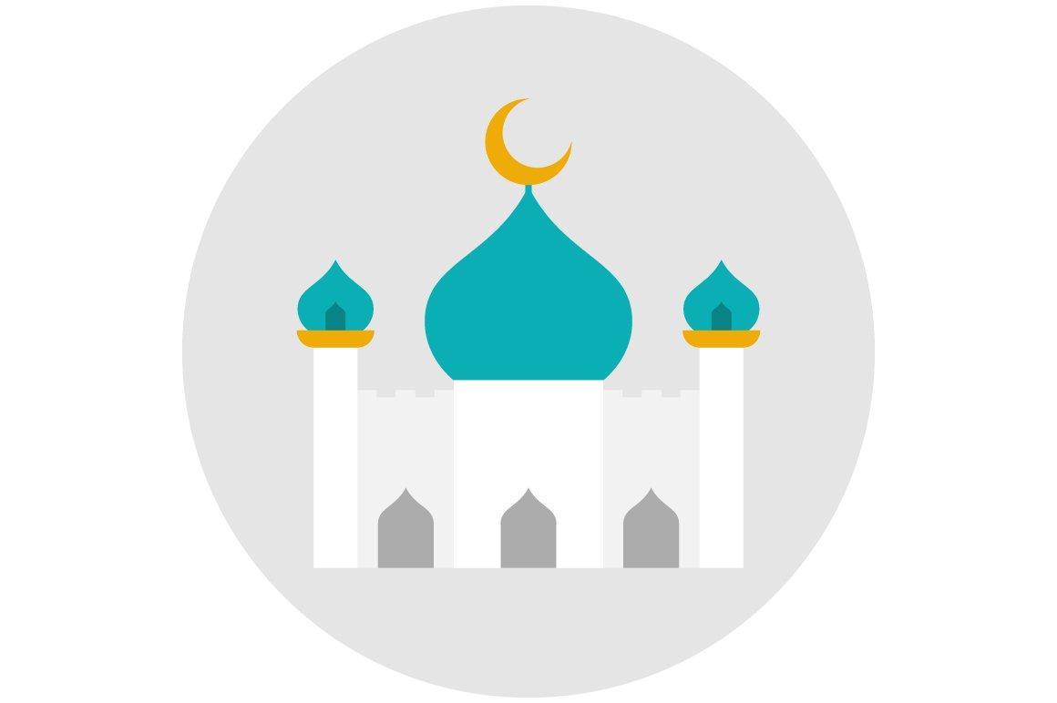 Mosque Icon Flat Icons Creative Market