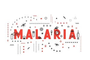 Concepts of words malaria