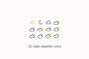 Weather icon pack [vector, svg, png]