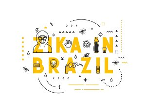 Virus zika in Brazil