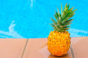 Pineapple and pool