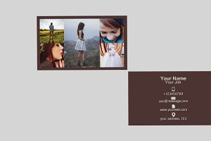 Phosttmdx Business Card Template