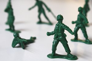 Little Green Army Men I
