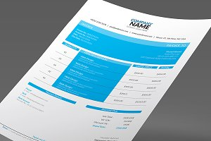 Colorful Invoices