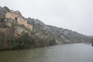 By the hermitage of San Saturio