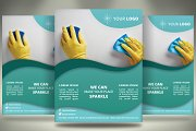 Cleaning Services Flyer - SK