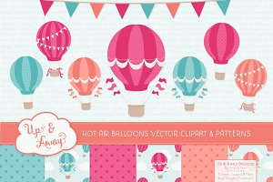 Bohemian Hot Air Balloons & Patterns