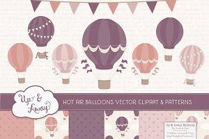 Buff Hot Air Balloons & Patterns