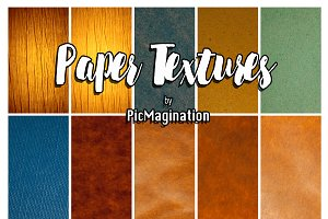 Paper textures and backgrounds