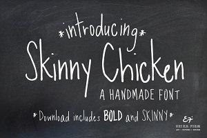 Skinny Chicken Handmade Fonts