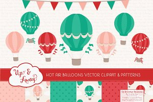 Cherry Bomb Hot Air Balloons