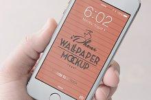 iPhone Wallpaper Mockup