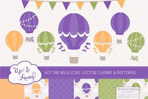 Crocus Hot Air Balloons & Patterns