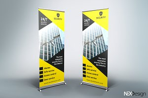 Security Roll-Up Banner - SK