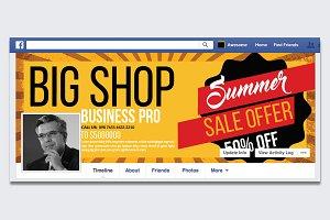 Big Sale Offer Facebook Timeline