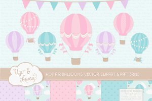 Fresh Hot Air Balloons & Patterns