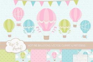 Fresh Hot Air Balloons & Patterns