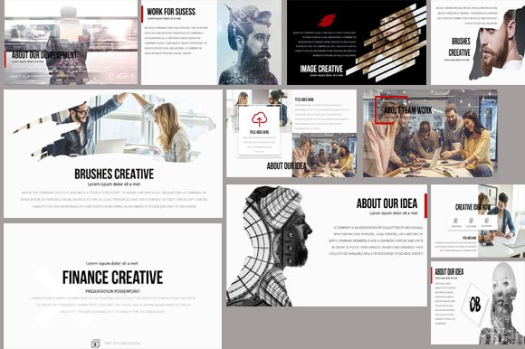 Finance Creative PowerPoint Pro