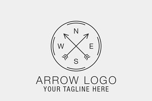 Arrow Logo Template