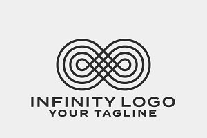 Infinity Symbol Logo Template