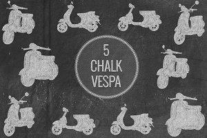 Chalk Vespa