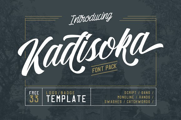 Kadisoka family 5 Fonts - 50% OFF