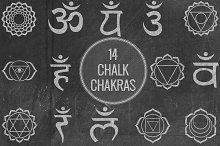 Chalk Chakras
