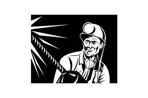 Miner Jack Drill Retro