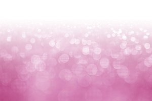 Pink glitter surface with pink light bokeh with white empty copy space  - It can be used for background for special occasions promotion campaign or product display
