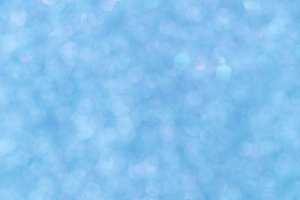 Blue light bokeh - It can be used for background for special occasions promotion campaign or product display