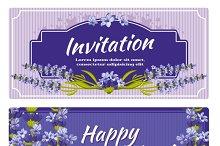 Greeting card, wedding invitation