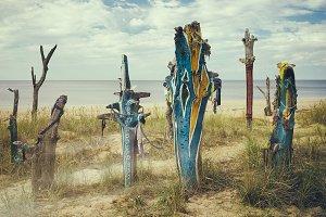 Baltic beach. Latvia