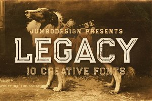 Legacy - Vintage Style Font