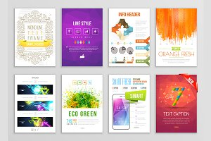 Vector Poster Templates.