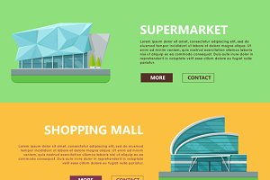 Shopping Mall Web Templates
