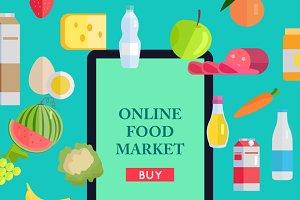 Online Food Market