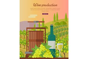 Wine Production Banner