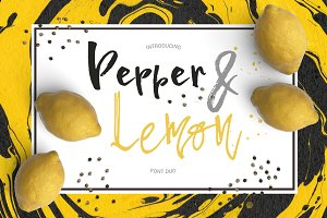 Pepper & Lime - Font Duo
