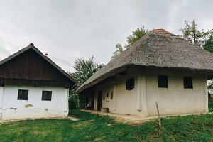 Old farmhouse in Prekmurje, Slovenia